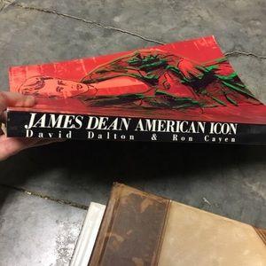 James Dean Accents - JAMES DEAN: American Icon Book - NEW Condition!